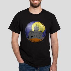 Haunted House Unisex Dark T-Shirt