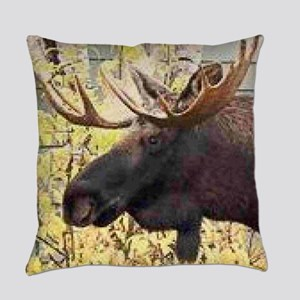 Moose Everyday Pillow