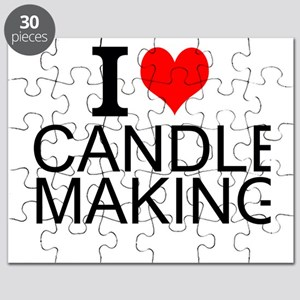 I Love Candle Making Puzzle