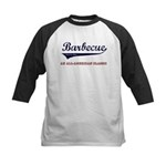 Barbecue All American Classic Kids Baseball Jersey