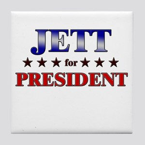 JETT for president Tile Coaster