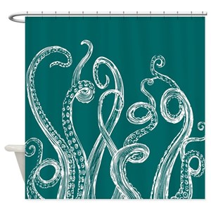 Tentacle Shower Curtains