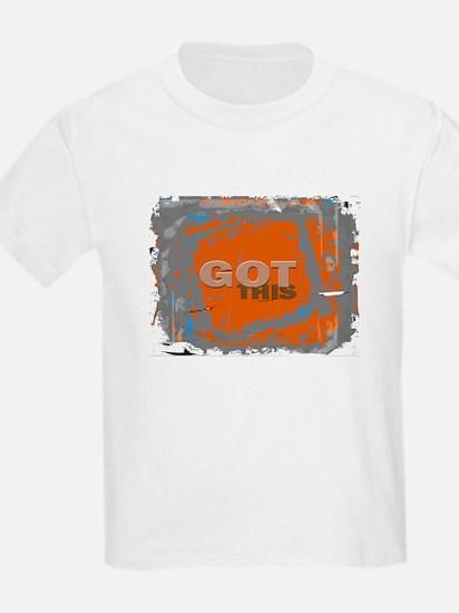 GOT THIS Orange Blue Gray T-Shirt
