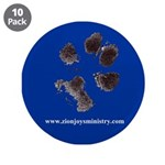 """Zion Paw Print 3.5"""" Button (10 pack)"""