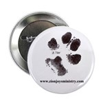 """Zion Paw Print2.25"""" Button (10 pack)"""