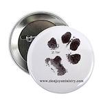 "Zion's pawprint 2.25"" Button (100 pack)"