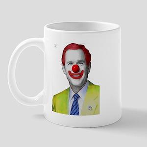 Clown George W Bush Mug