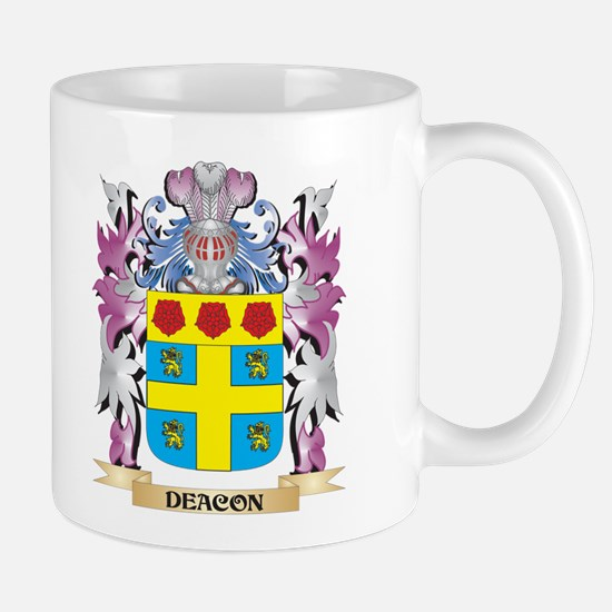 Deacon Coat of Arms (Family Crest) Mugs