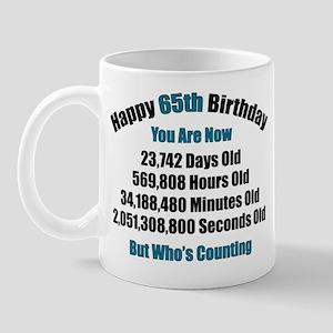65 'Years' Old Mug