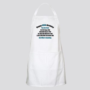65 'Years' Old BBQ Apron