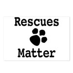 Rescues Matter Postcards (Package of 8)