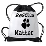 Rescues Matter Drawstring Bag