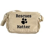 Rescues Matter Messenger Bag