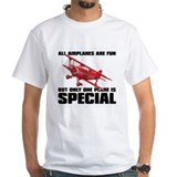 Pitts special Mens Classic White T-Shirts