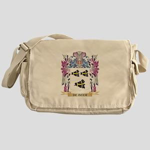 De-Beer Coat of Arms (Family Crest) Messenger Bag