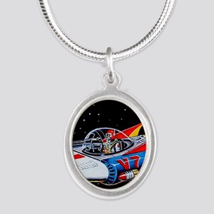 V-7 SPACE SHIP Necklaces