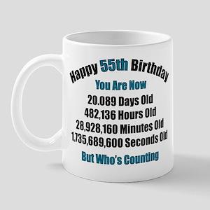 55 'Years' Old Mug
