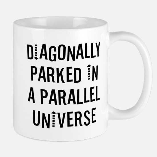 Diagonally Parked Small Mug
