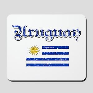 Uruguayan Flag Mousepad