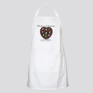 Chihuahuas - like chocolates BBQ Apron