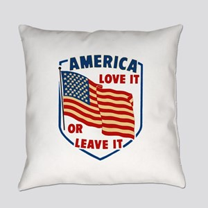America Love it Everyday Pillow