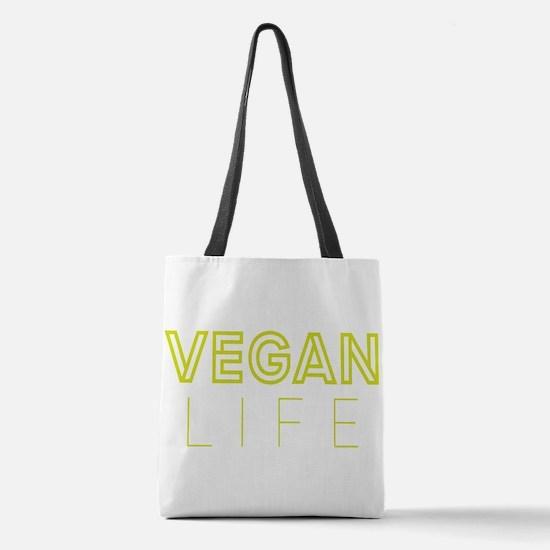 Vegan Life Polyester Tote Bag
