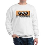 Get Strong at kibitz T-shirt -- long sleeve