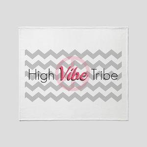 High Vibe Tribe Throw Blanket