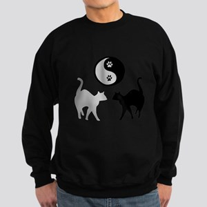 YIN YANG CATS PAW Sweatshirt