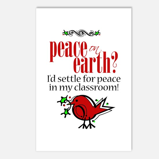 Peace in the Classroom Postcards (Package of 8)