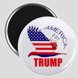 Trump America First Eagle Magnet