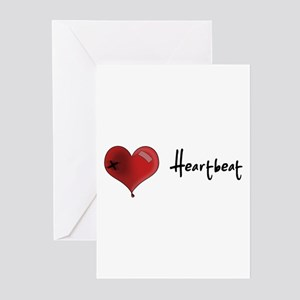 Heart Beat Greeting Cards (Pk of 10)