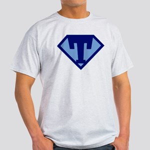 Super Hero Letter T T-Shirt
