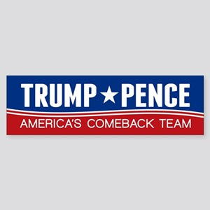 Trump Pence 2016 Bumper Sticker