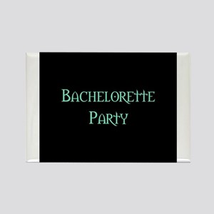 Bachelorette Party (Pale Gree Rectangle Magnet