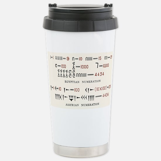 Egyptian and Assyrian counting systems Mugs