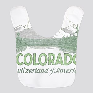 Vintage Colorado Mountains Bib