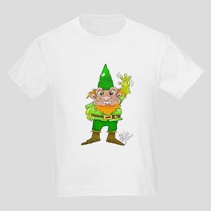 Cartoon illustration of a waving leprechau T-Shirt