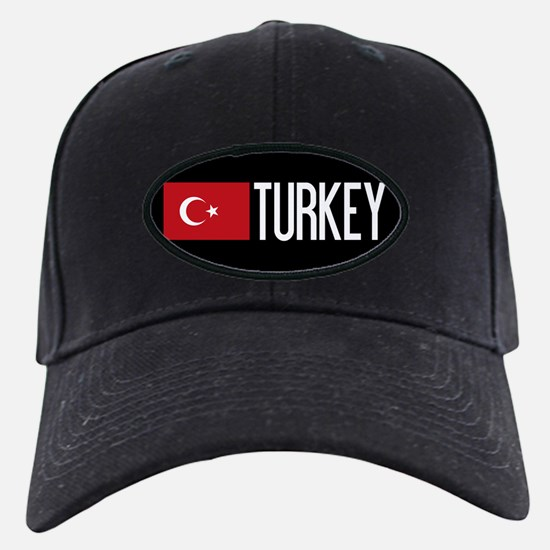 Turkey: Turkish Flag & Turkey Baseball Hat