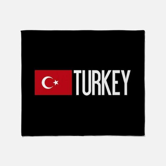 Turkey: Turkish Flag & Turkey Throw Blanket