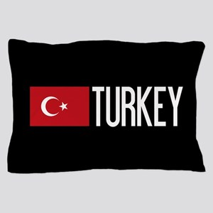 Turkey: Turkish Flag & Turkey Pillow Case