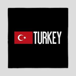 Turkey: Turkish Flag & Turkey Queen Duvet