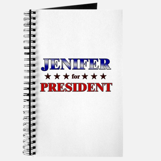 JENIFER for president Journal