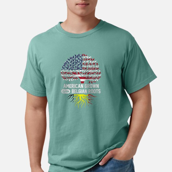 AMERICAN GROWN WITH BELGIAN ROOTS T-Shirt