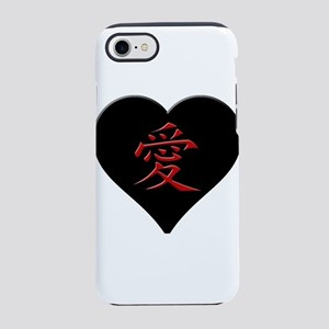 LOVE - Japanese Kanji Script iPhone 8/7 Tough Case