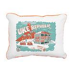 Ukerepublic_logo_color_m Rectangular Canvas Pillow