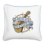 Ukerepublic_logo_color_med.pn Square Canvas Pillow