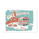 ukerepublic_logo_color_med Postcards (Package
