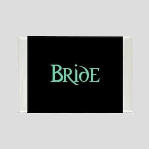Bride -Pale Green Rectangle Magnet