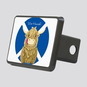 Wee Hamish Highland Cow (Saltire) Hitch Cover